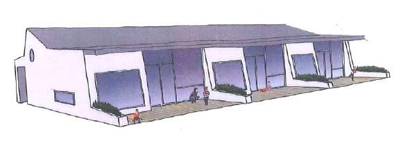 Konzept: neuer Kindergarten im Ortszentrum
